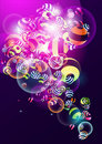 Free Background With Colorful Balls Royalty Free Stock Photography - 15658707