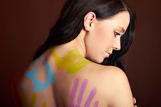 Free Beautiful Woman With Bodypainting Stock Photography - 15650262