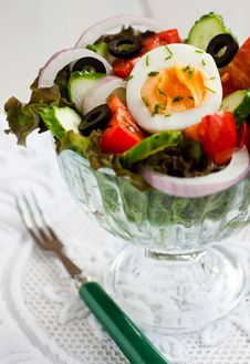 Free Vegetable Salad Royalty Free Stock Photography - 15650317