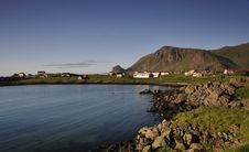 Free A Coast In Lofoten Royalty Free Stock Image - 15650386