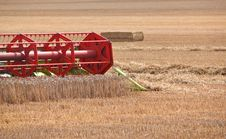 Free Combine Harvester Blades Working In Field Royalty Free Stock Photo - 15651245