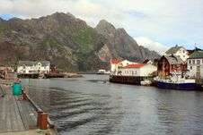 Free Henningsvaer In Norway Royalty Free Stock Image - 15651496