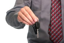 Free Hand With Key Stock Image - 15651971