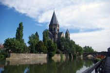 Free Lovely View Of Metz. Royalty Free Stock Photography - 15652137