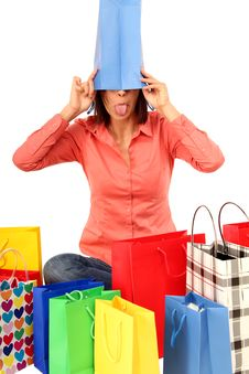 Free Shopping Disaster Stock Photography - 15653682
