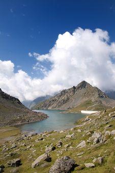 Free Gabiet Lake, Aosta Valley Stock Photo - 15654560