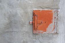 Furnace Damper Stock Image