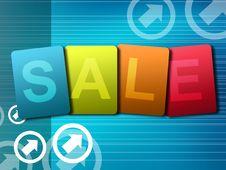 Free Sale Royalty Free Stock Photos - 15655348