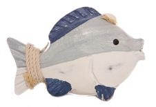 Free Wooden Fish Ornament Stock Photos - 15655573