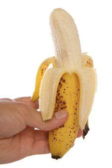 Free Hand Holding Peeled Banana Royalty Free Stock Photo - 15655715