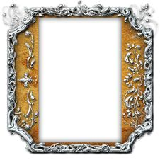 Free Vintage Photo Frame With Classy Patterns Royalty Free Stock Image - 15656626