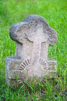 Free Stone  Cross Stock Photo - 15657090
