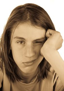 Free Teenager Portrait Stock Image - 15657181