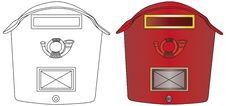 Free Mailbox Royalty Free Stock Photography - 15657987