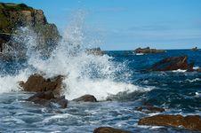 Free Wavesplash Royalty Free Stock Photo - 15658145