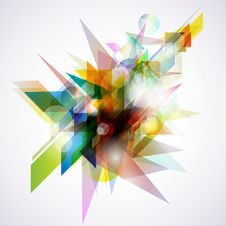 Free Abstract Colorful Background. Royalty Free Stock Photography - 15658387