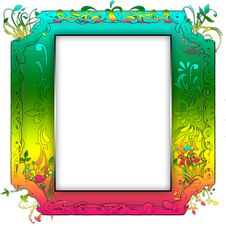 Free Vintage Photo Frame With Classy Patterns Stock Image - 15659361