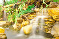 Free Artificial Waterfall Central Of The City Stock Photo - 15660920