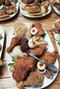 Free Fried Chicken Meat Stock Images - 15664394