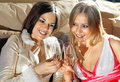 Free Faces Of Women With Glasses Of Wine Stock Image - 15666781
