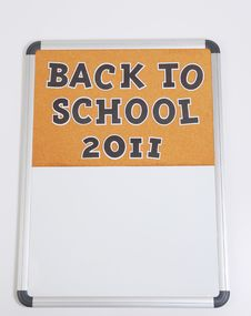 Free Back To School New Year 2011 Stock Photos - 15660483