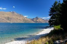 Lake Wakatipu Royalty Free Stock Photos