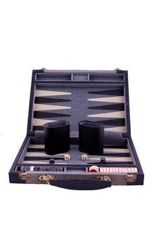 Backgammon Gamboard Stock Photo