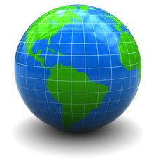 Free Earth Globe Royalty Free Stock Image - 15662486