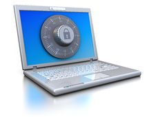 Free Protected Laptop Stock Image - 15662491