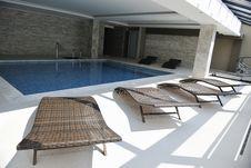 Free Indoor Swimming  Pool Stock Image - 15662811