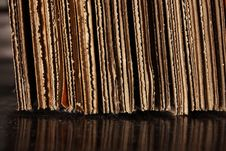Free Cardboard Stack On Floor Stock Photography - 15663022