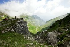 Free Alpine Valley In Romania Royalty Free Stock Photo - 15664495