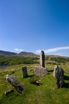 Free Uragh Stone Circle Royalty Free Stock Photography - 15665287