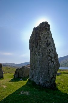 Uragh Stone Circle Stock Images