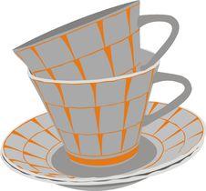 Free Tea Set Royalty Free Stock Photos - 15665818