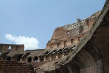 Free Inside The Roman Coliseum Royalty Free Stock Photography - 15665897
