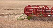 Free Harvester Blades Cutting The Wheat Royalty Free Stock Images - 15665999