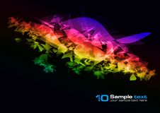 Free Vector Abstract Design Royalty Free Stock Photo - 15666045