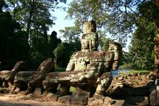 Free Angkor Wat-Cambodia Royalty Free Stock Photos - 15666128