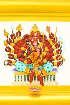 Free Ganesha S That Royalty Free Stock Photo - 15666145