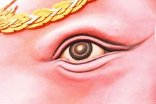 Ganesha S Eye Stock Photography