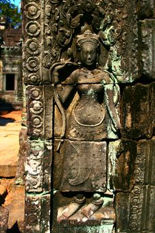 Free Angkor Wat-Cambodia Royalty Free Stock Photo - 15666175