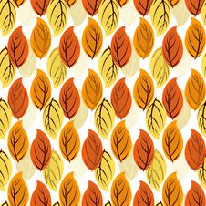 Free Floral Seamless Autumn Pattern Stock Photography - 15666562