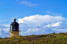 Free Rubha Reidh Lighthouse With Storm Clouds Royalty Free Stock Photos - 15666758