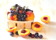 Free Peaches And Vine Royalty Free Stock Photos - 15666868