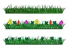 Free Colorful Isolated Examples Of Grass Royalty Free Stock Photo - 15666945
