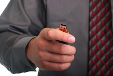 Free Hand With Memory Stick Stock Photo - 15667030