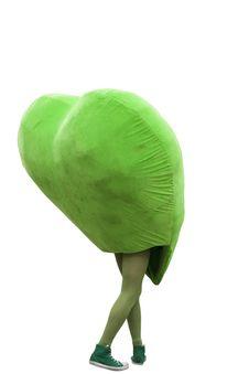 Free Green Heart Man Stock Photo - 15667450
