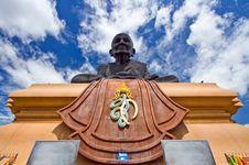 Free Buddha Image, Luang Pu Toad Buddha Statue Royalty Free Stock Image - 15667536