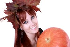 Free Red Hair Woman Stock Photos - 15668453